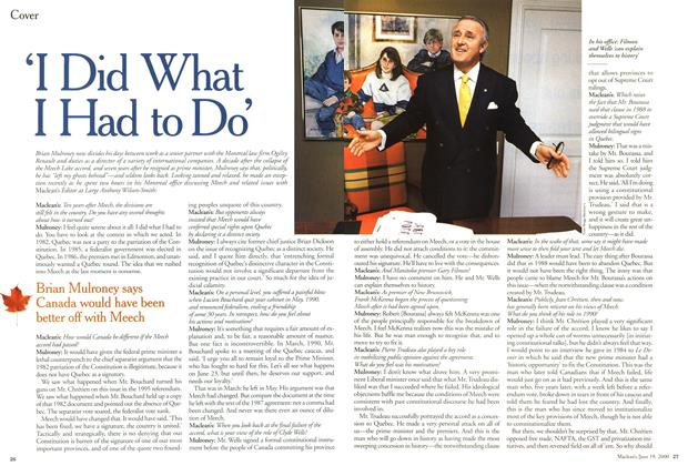 Article Preview: 'I Did What I Had to Do', June 2000 | Maclean's