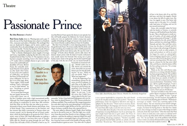 Article Preview: Passionate Prince, June 2000 | Maclean's