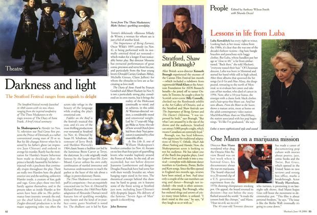 Article Preview: Darkness and light, June 2000 | Maclean's