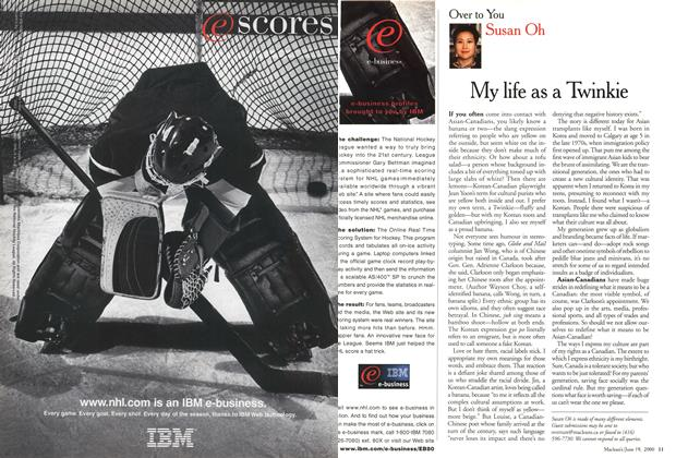 Article Preview: My life as a Twinkie, June 2000 | Maclean's