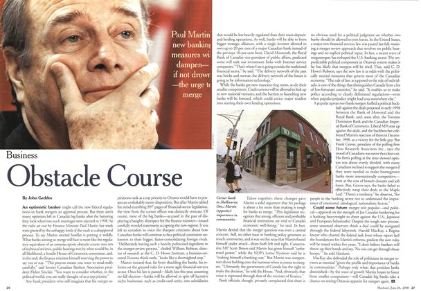 Article Preview: Obstacle Course, June 2000 | Maclean's