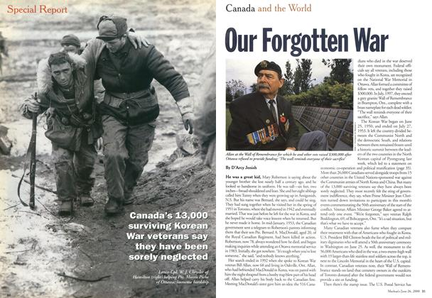 Article Preview: Our Forgotten War, June 2000 | Maclean's