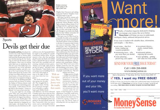 Article Preview: Devils get their due, June 2000 | Maclean's