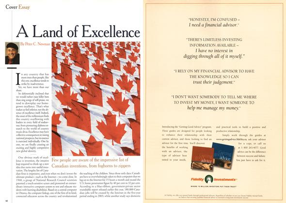 Article Preview: A Land of Excellence, July 2000 | Maclean's