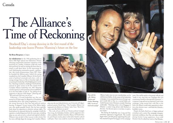 Article Preview: The Alliance's Time of Reckoning, July 2000 | Maclean's