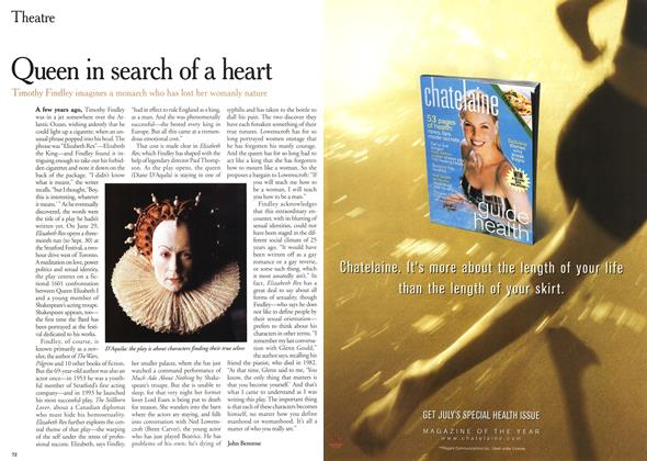 Article Preview: Queen in search of a heart, July 2000 | Maclean's