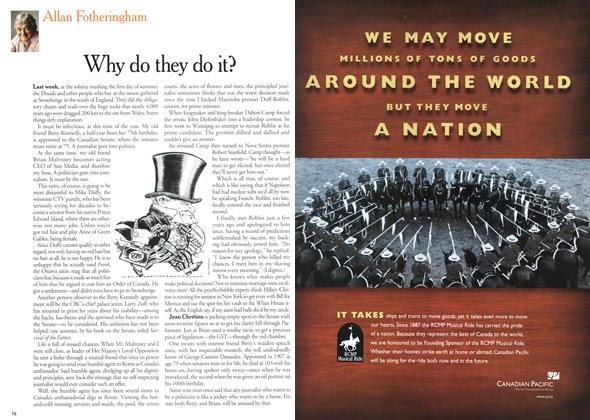 Article Preview: Why do they do it?, July 2000 | Maclean's