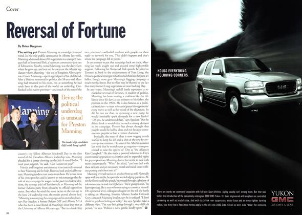 Article Preview: Reversal of Fortune, July 2000 | Maclean's