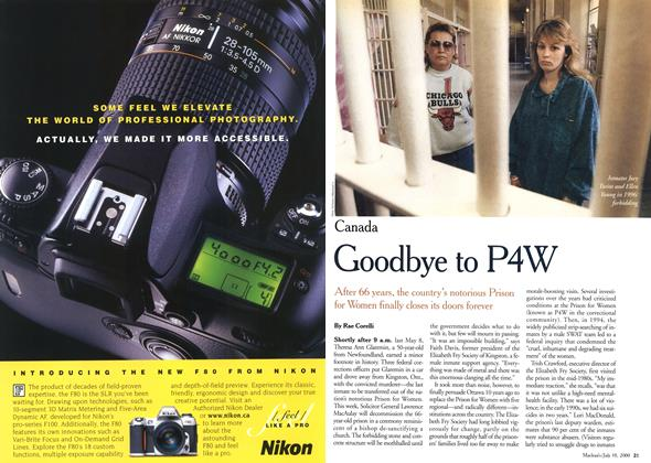 Article Preview: Goodbye to P4W, July 2000 | Maclean's