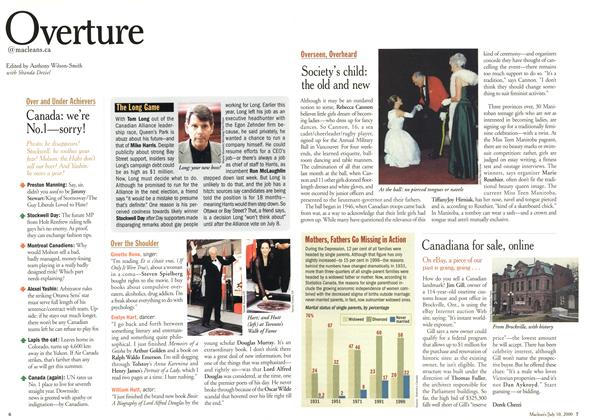Article Preview: Overture, July 2000 | Maclean's