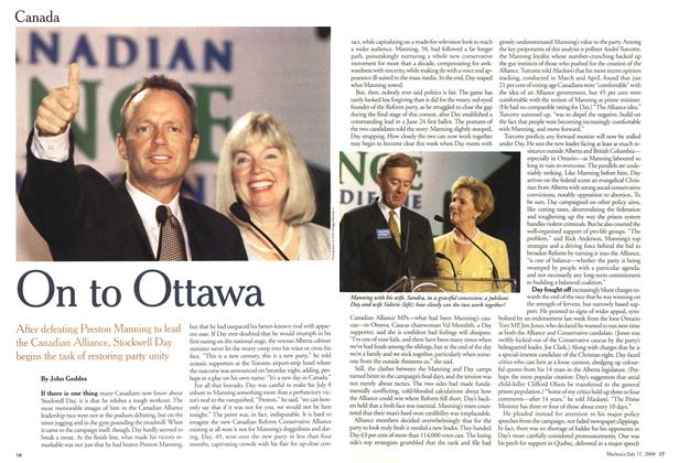 Article Preview: On to Ottawa, July 2000 | Maclean's