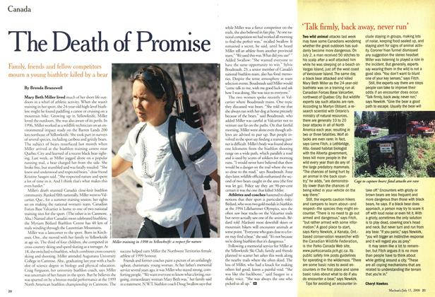 Article Preview: 'Talk firmly, back away, never run', July 2000 | Maclean's