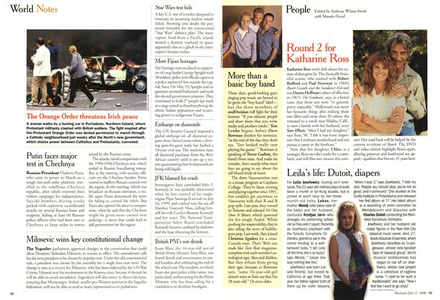 Article Preview: People, July 2000 | Maclean's