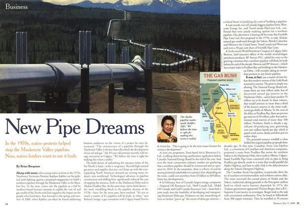 Article Preview: New Pipe Dreams, July 2000 | Maclean's