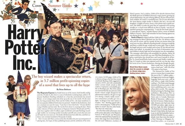Article Preview: Harry Potter Inc, July 2000 | Maclean's