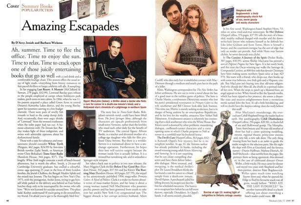 Article Preview: Amazing Escapades, July 2000 | Maclean's
