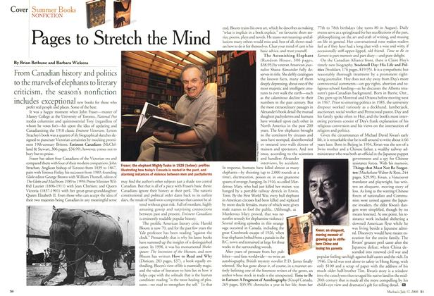 Article Preview: Pages to Stretch the Mind, July 2000 | Maclean's