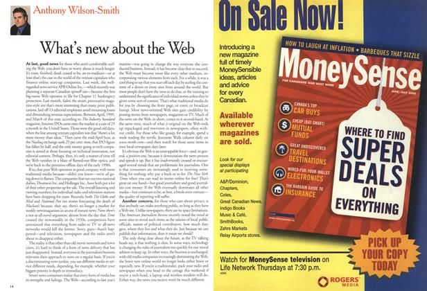 Article Preview: What's new about the Web, July 2000 | Maclean's