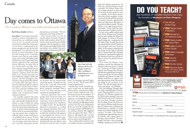 Article Preview: Day comes to Ottawa, July 2000 | Maclean's