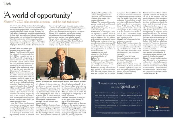 Article Preview: 'A world of opportunity', July 2000 | Maclean's