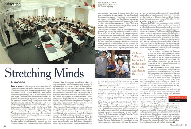 Article Preview: Stretching Minds, July 2000 | Maclean's