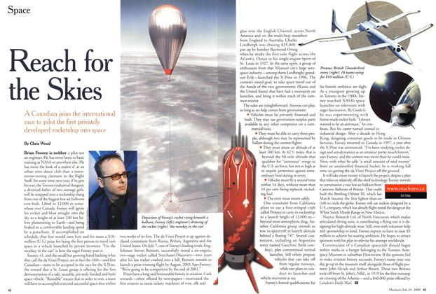 Article Preview: Reach for the Skies, July 2000 | Maclean's