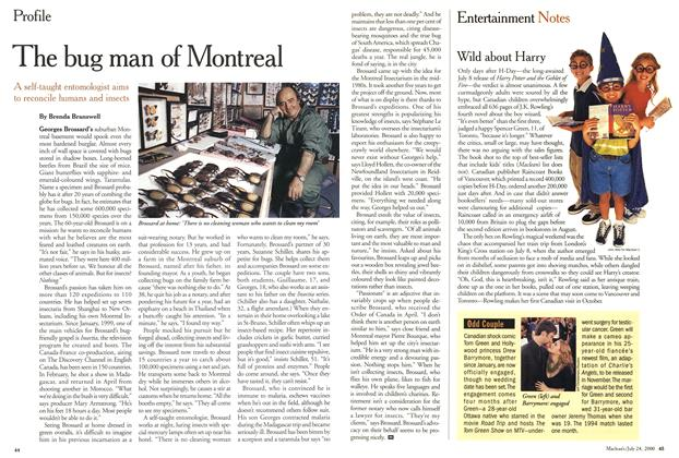 Article Preview: The bug man of Montreal, July 2000 | Maclean's