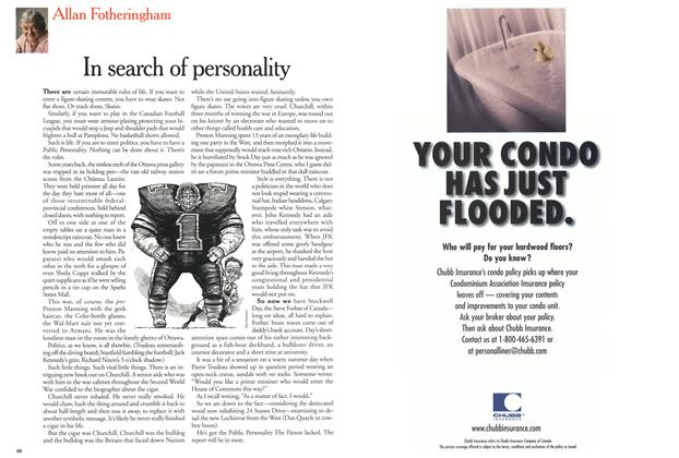 Article Preview: In search of personality, July 2000 | Maclean's