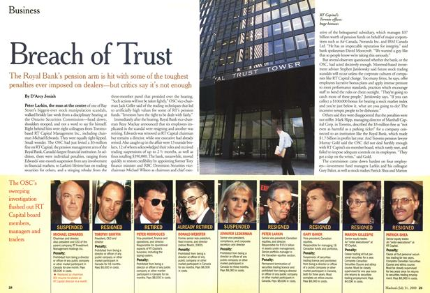 Article Preview: Breach of Trust, July 2000 | Maclean's