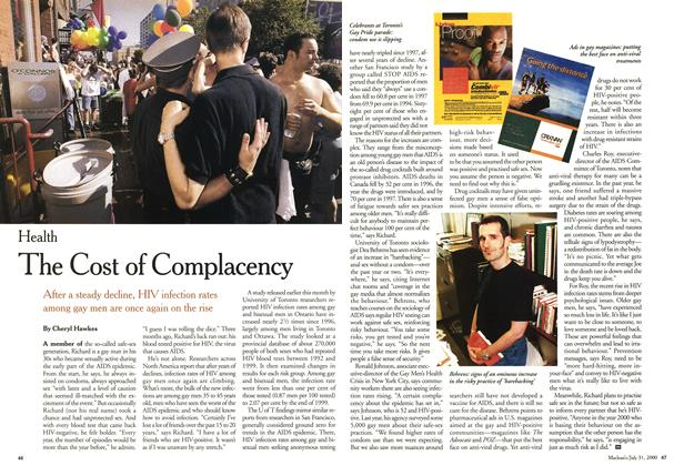 Article Preview: The Cost of Complacency, July 2000 | Maclean's