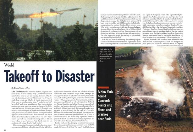 Article Preview: Takeoff to Disaster, August 2000 | Maclean's