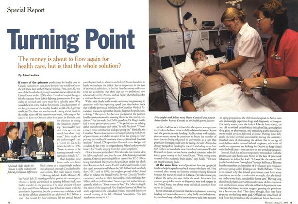 Article Preview: Turning point, August 2000 | Maclean's