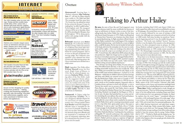 Article Preview: Talking to Arthur Hailey, August 2000 | Maclean's