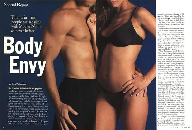 Article Preview: Body Envy, August 2000 | Maclean's