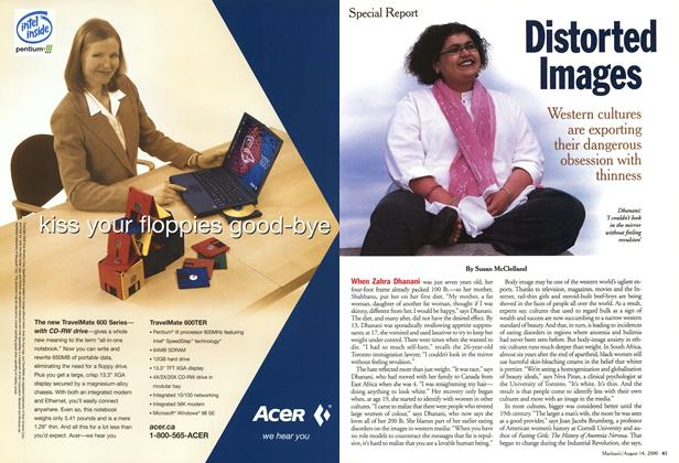 Article Preview: Distorted Images, August 2000   Maclean's