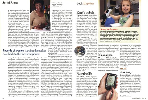 Article Preview: Tech Explorer, August 2000 | Maclean's