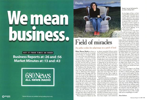Article Preview: Field of miracles, August 2000 | Maclean's