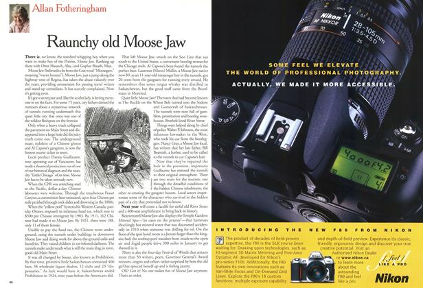 Article Preview: Raunchy old Moose Jaw, August 2000 | Maclean's