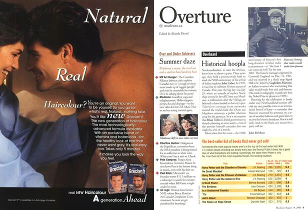 Article Preview: Overture, August 2000 | Maclean's