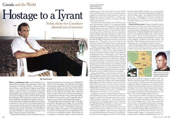 Article Preview: Hostage to a Tyrant, August 2000 | Maclean's