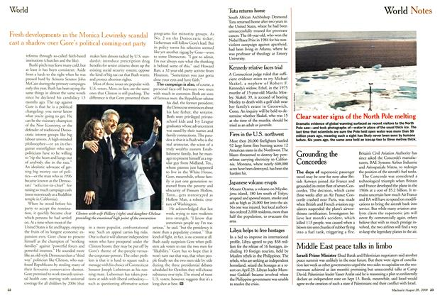 Article Preview: World Notes, August 2000 | Maclean's