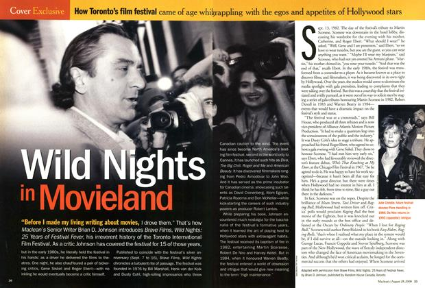 Article Preview: Wild Nights in Movieland, August 2000 | Maclean's