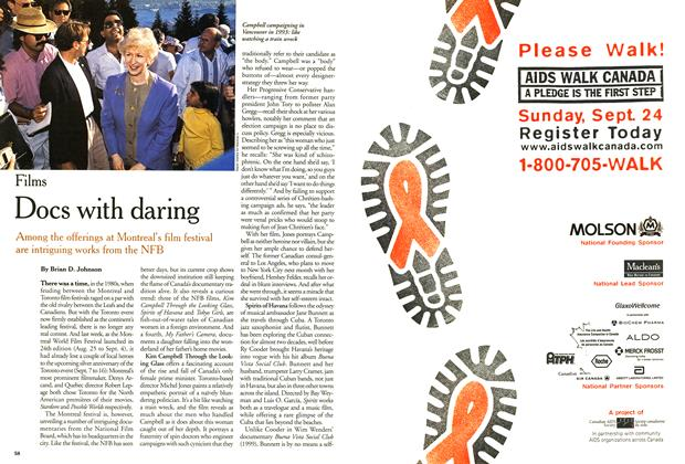 Article Preview: Docs with daring, September 2000 | Maclean's