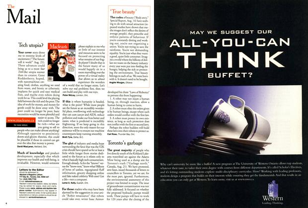 Article Preview: The Mail, September 2000 | Maclean's