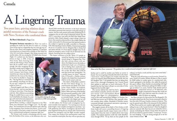 Article Preview: A Lingering Trauma, September 11,2000 2000 | Maclean's