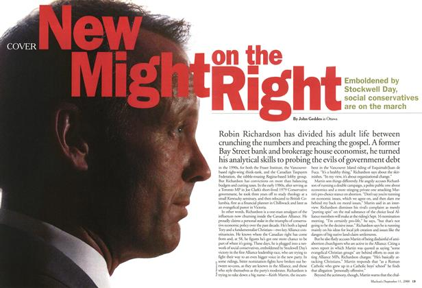 Article Preview: New Might on the Right, September 11,2000 2000 | Maclean's