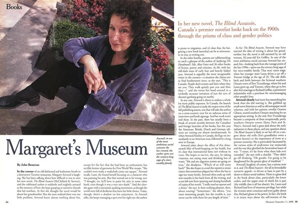 Article Preview: Margaret's Museum, September 11,2000 2000 | Maclean's
