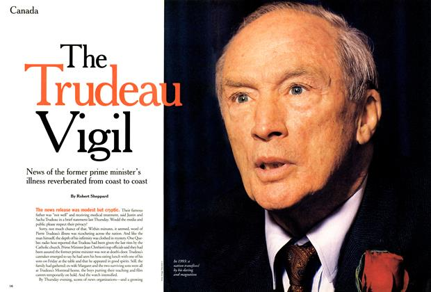 Article Preview: The Trudeau Vigil, September 2000 | Maclean's