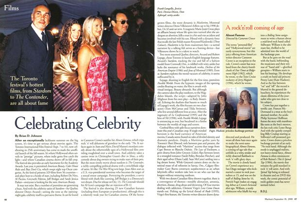 Article Preview: Celebrating Celebrity, September 2000 | Maclean's