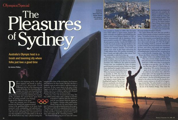 Article Preview: The Pleasures of Sydney, September 2000 | Maclean's